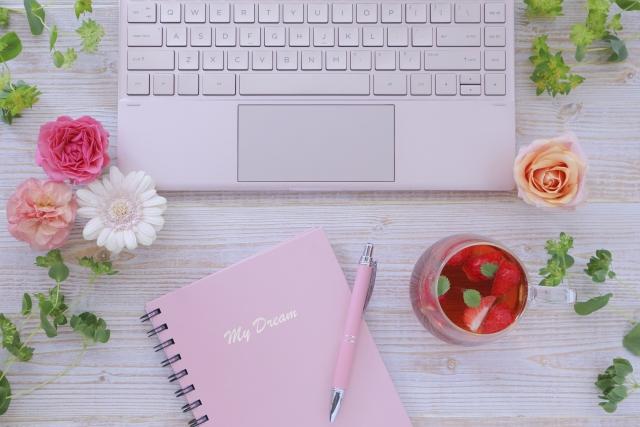 ピンクパソコン